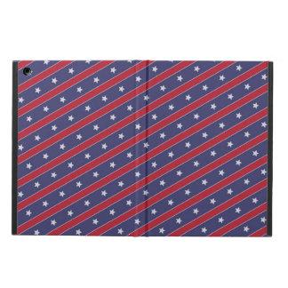 Blaues Rot Stripes Sternchen-Vereinbarung