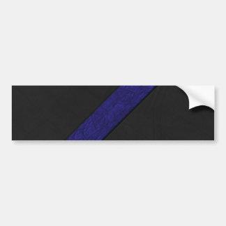 Blaues Schmutzpapierstreifenschwarzleder Autoaufkleber