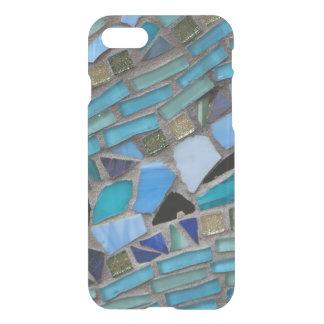 Blaues Seeglas-Mosaik iPhone 8/7 Hülle