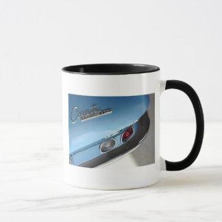 Blaues Sport-Auto Tasse