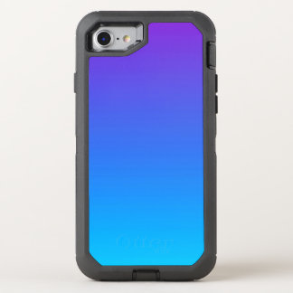 Blaues und lila Ombre iPhone 8/7 Otterbox Fall OtterBox Defender iPhone 8/7 Hülle
