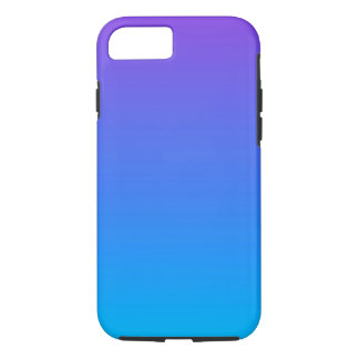 Blaues und lila Ombre iPhone 8/7 Telefon-Kasten iPhone 8/7 Hülle