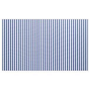 Blaues und weißes gestreiftes Baseball-Gewebe Stoff