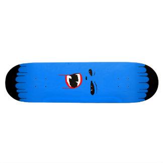 Blaues Vamp-Gewohnheits-Skateboard Skateboardbrett