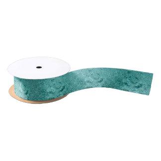 Blaues Wasser plätschert Satin-Band-Spule Satinband