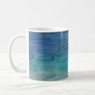 Blaues Wasser-Tasse Tasse