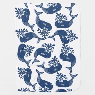 Blauwale Babydecken