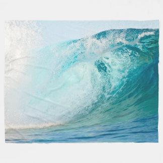 Blauwelle des pazifischen Ozeans, die Fleecedecke Fleecedecke