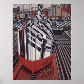 "Blenden-Schiffe in Drydockplakat 24"" x31 "" Poster"