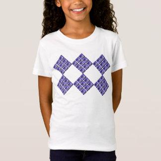 Blenden Sie violette Edelsteinsteine T-Shirt