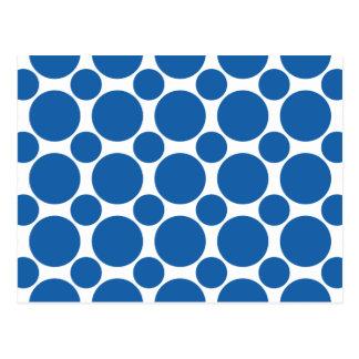Blendungs-blauer Tupfen 2 Postkarte