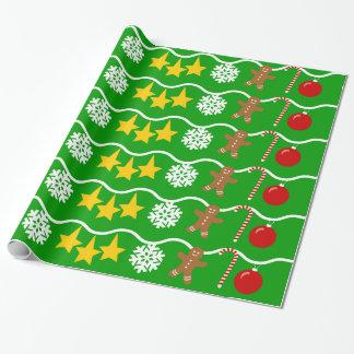 Blendungs-Weihnachten Geschenkpapier