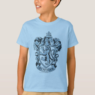 Bleu de crête de Gryffindor T-shirt