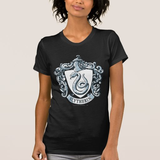 Bleu de crête de Slytherin T-shirts