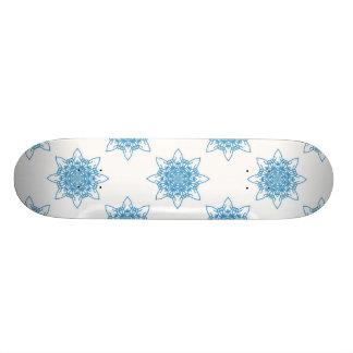 Bleu de flocon de neige skateboards
