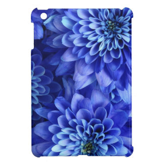 Bleu floral étui iPad mini