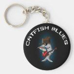 Bleus de poisson-chat porte-clé
