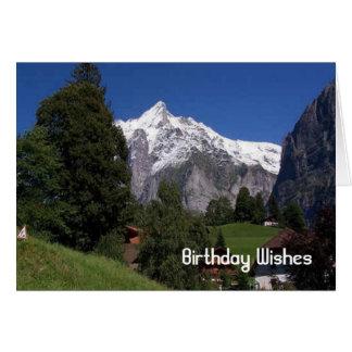 Blick Interlakens A des Jungfrau Karte