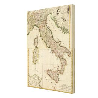 Blick von Italien Gespannter Galerie Druck