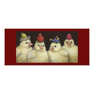 Blicke auf Beeren-Hut-Nachtflacher Karte 10,2 X 23,5 Cm Einladungskarte