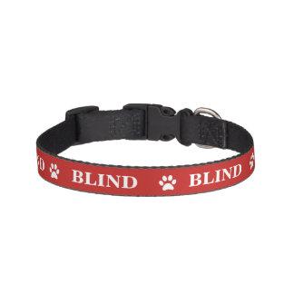 """""""BLINDER"""" Bewusstseins-Haustier-Kragen Leine"""