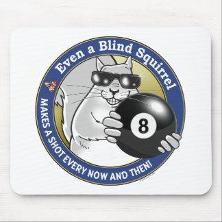 Blindes Eichhörnchen-Pool Mousepads
