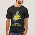 Bling Bling Seemöwe-T - Shirt