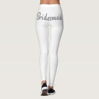 Bling Entwurf der Brautjungfer Leggings