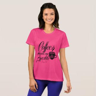 Bling Leben-Kaffee stellt mich Schein-Shirt her T-Shirt
