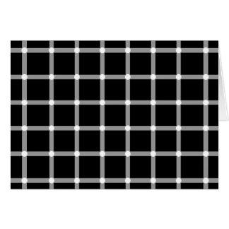 Blinkenpunkte - optische Täuschung Karte