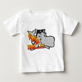 Blinzeln des Wal-Baby-T - Shirt