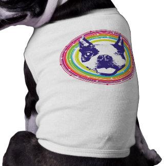 Blinzeln von Boston Terrier Shirt