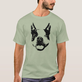 Blinzeln von Boston Terrier T-Shirt
