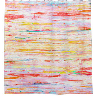 """""""Bliss-"""" bunte abstrakte Kunst Duschvorhang"""