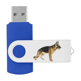 Blitz-Antrieb Schäferhund-Polizei-Hund-USBs 32GB USB Stick
