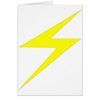 Blitz-Bolzen Karte
