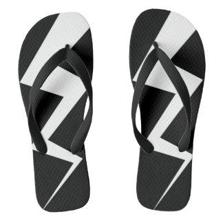 Blitz-Bolzen-Spieler Flip Flops