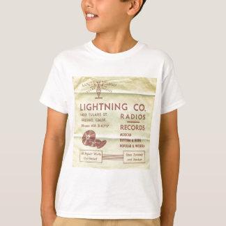 Blitz-Plattenen-Material T-Shirt