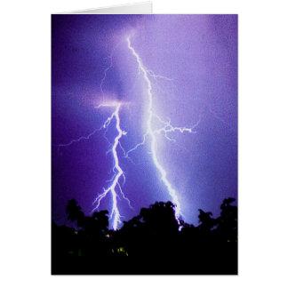 Blitz-Sturm Karte