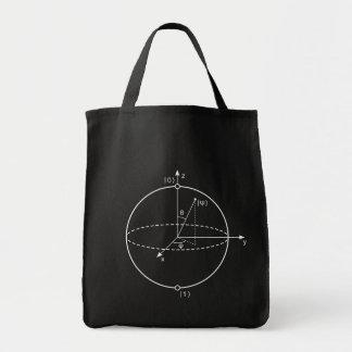 Bloch Bereich | Quantum biss (Qubit) Physik/Mathe Tragetasche