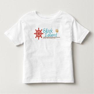Block-Insel scherzt Shirts