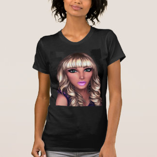 Blondes Party-Mädchen T-Shirt
