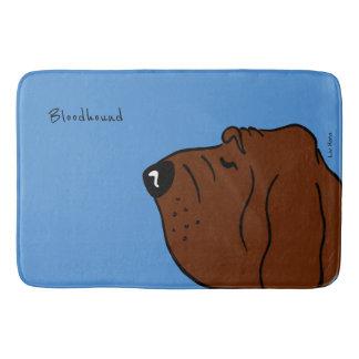 Bloodhound Head Badematte