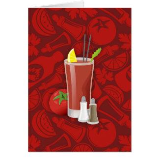 Bloody Mary Karte