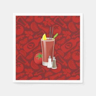 Bloody Mary Serviette