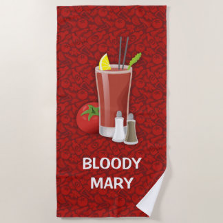 Bloody Mary Strandtuch