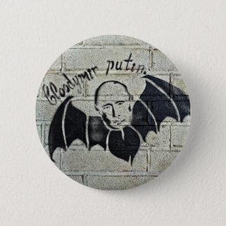 Bloodymir Putin Knopf Runder Button 5,7 Cm