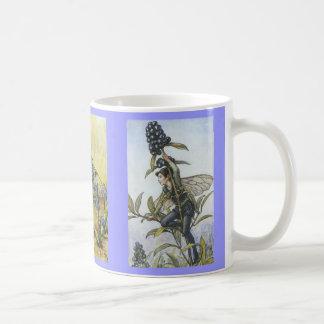 Blue Flower Fairies Mug Blanc