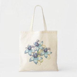 Blue Flowers Sacs
