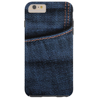 Blue Jeans-Tasche Tough iPhone 6 Plus Hülle